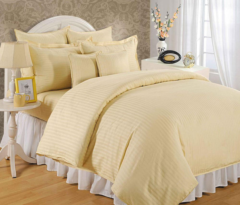 CANOPUS CREAMY CLASSIC DUVET COVER SET - Flickdeal.co.nz
