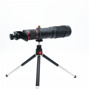 36X 4K HD Dual Zoom Remote Control Telephoto Lens Telescope Lens For Mobile Phone Hunting