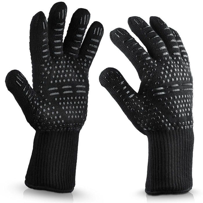 Silicone Extreme 500℃ Heat Resistant Glove Cooking Oven Hot Mitt BBQ Grilling Glove