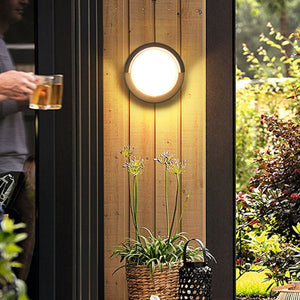 Garden Outdoor 10W Waterproof IP65 LED Wall Lamp Fitting Porch Patio Light