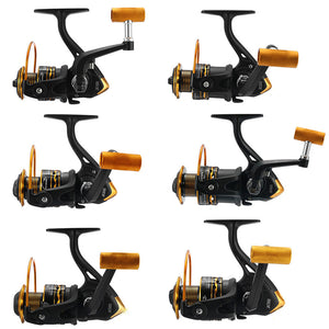 JK1000-7000 5.1/5.2:1 12BB Spinning Reels Saltwater Freshwater Left/Right Hand Fishing Reel