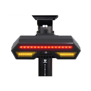 XANES STL09 Bike Turn Signal LED Light Cycling Bicycle USB Waterproof Remote Control Bike Tail Light