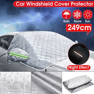 Car Sunshade Protector Windshield Cover Winter Snow Ice Rain Dust Frost Guard