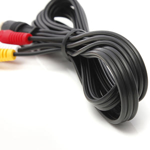 Audio Video AV Cable fits Sega Saturn A/V 1.8m 6ft RCA Connection Cord