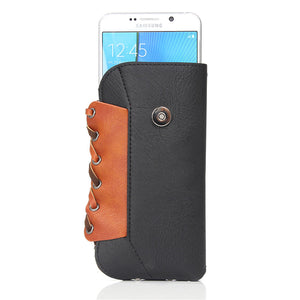 Men Phone Bag Casual Belt Pouch Holster Phone Case for Iphone 7/Plus