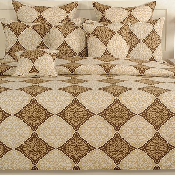 Canopus Gold Diamond Bed Linen Set