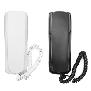 1Pcs 48V Standard  Phone Corded Telephone Analog Desk Wall Mount Flash Redial For Office Home