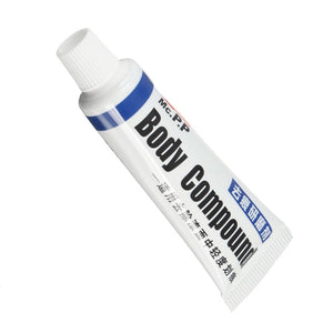 Car Body Compound Scratch Repair Wax Paint Scar Remover Paste With Sponge Brush