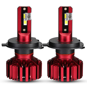 NovSight A500-N11 LED Car Headlights Bulbs H1 H3 H4 H7 H11 9005 9006 60W 10000LM 6000K
