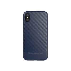 Bakeey™ Ultra Thin Shockproof Carbon Fiber Soft TPU Case for iPhone X
