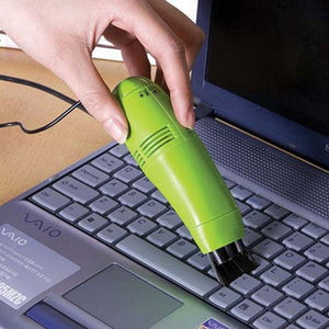 Mini Computer USB Vacuum Keyboard Cleaner PC Laptop Printer Brush Dust Cleaning Kit