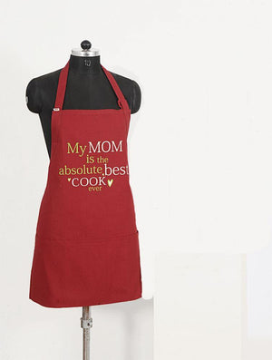 MOM BEST COOK APRON - Flickdeal.co.nz