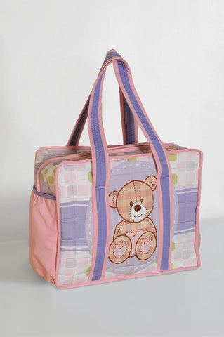 baby bag - teddy bear