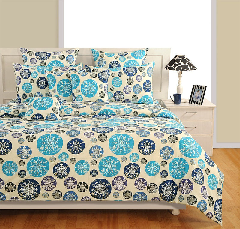Canopus Blue bubble Duvet Cover Set - Flickdeal.co.nz
