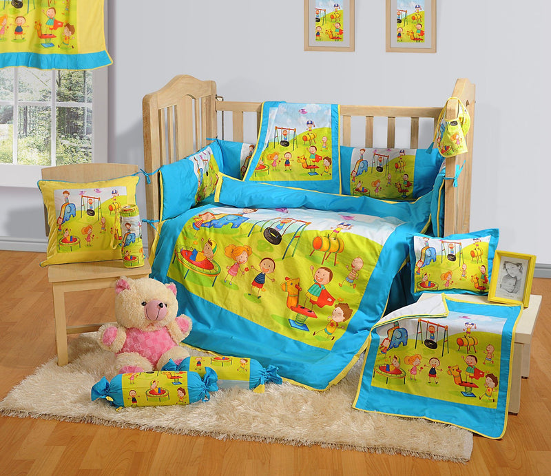 COT DUVET COVER SET - PARK - Flickdeal.co.nz