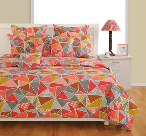 Canopus Triangle Cotton Duvet Cover Set - Flickdeal.co.nz