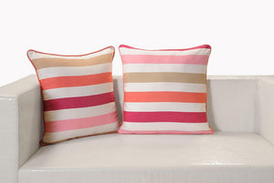 CANOPUS STRIPED CUSHION COVER - Flickdeal.co.nz
