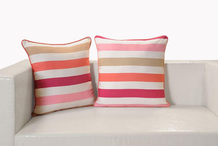 CANOPUS STRIPED CUSHION COVER