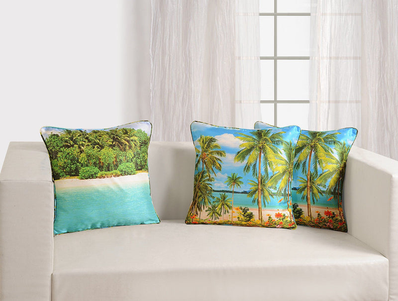 BEACH CUSHION COVER - Flickdeal.co.nz