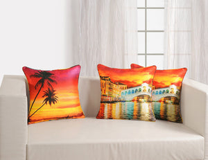 CUSHION COVER -SCENERY - Flickdeal.co.nz