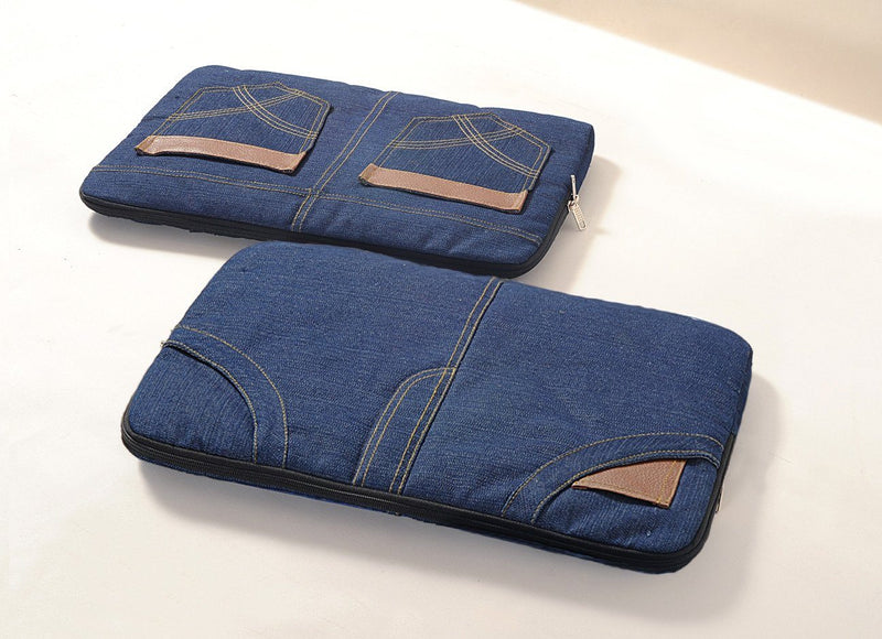 Denim Laptop Sleeve - BLAPSL1 - Flickdeal.co.nz