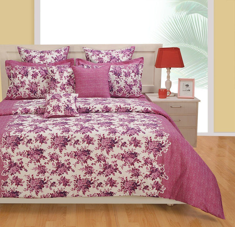 Canopus Designer Floral Duvet Cover Set - Flickdeal.co.nz