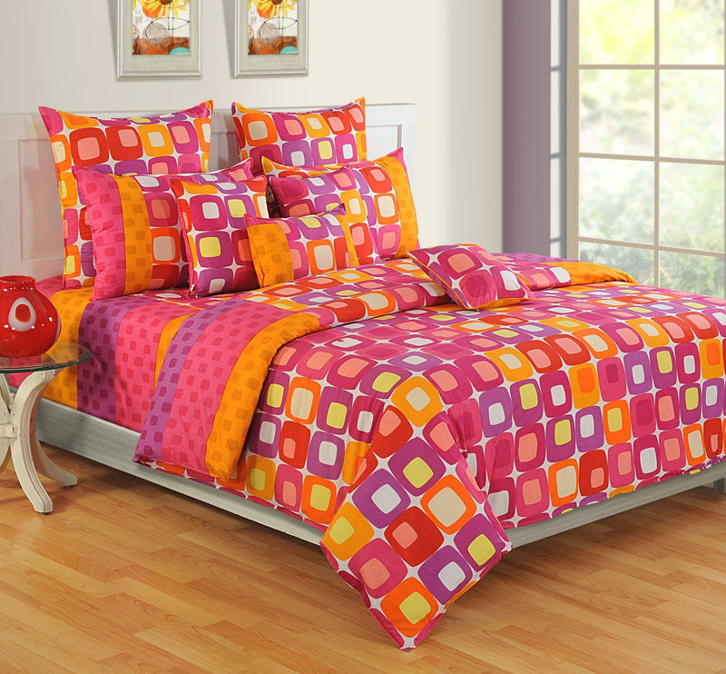 Canopus Cubes Designer Duvet Cover Set - Flickdeal.co.nz
