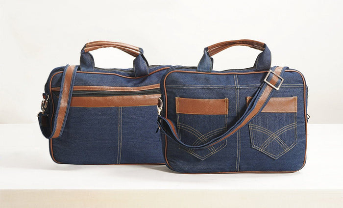 Denim Laptop bag