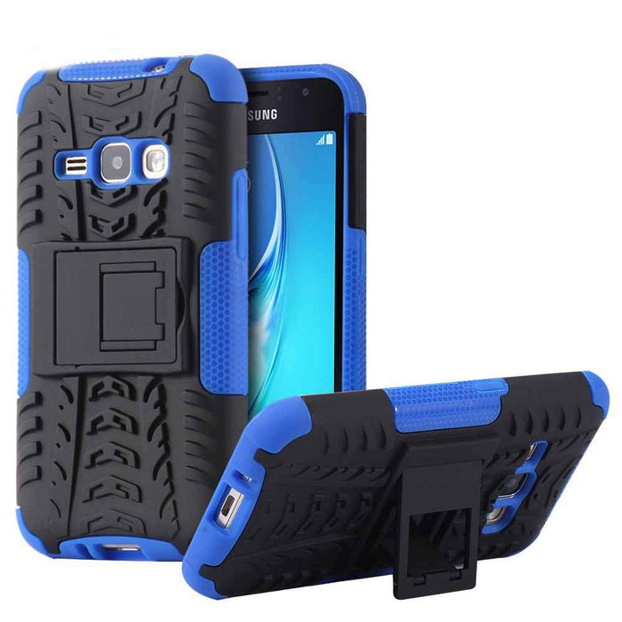 Armor Case For Samsung Galaxy With Kickstand Holder Shockproof  Cover For Samsung J1  J5  S7 S6 Edge Plus S8 S8 Plus