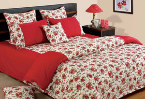 Canopus Red Roses Duvet Covers set - Flickdeal.co.nz