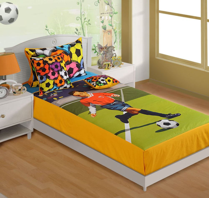 CANOPUS KIDS BED LINEN - FOOTBALL - Flickdeal.co.nz