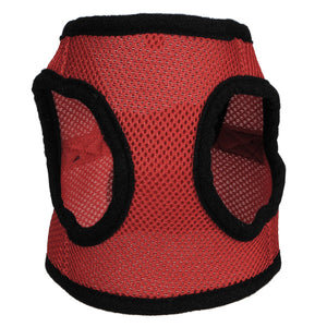 Adjustable Soft Pet Dog Step In Vest Mesh Harness Buckle