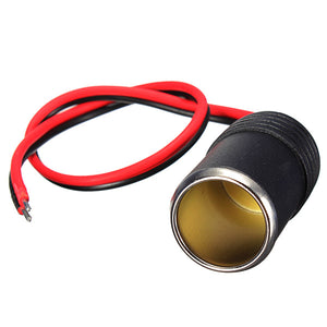 12V Car Cigar Cigarette Lighter Socket Plug Connector Adapter Cable