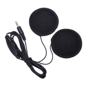 Motorcycle Helmet Stereo Earphone Headset for iPhone MP3 Music Device