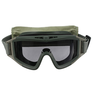 Protective Goggle Glasses with 3 Lenses for Motorcycle CS Sports