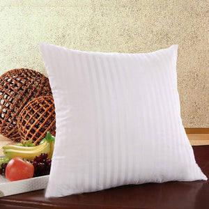 2 Size Striped Vacuum Compression Pillow Core Square Pillow Inner Cushion Insert Sofa Decor