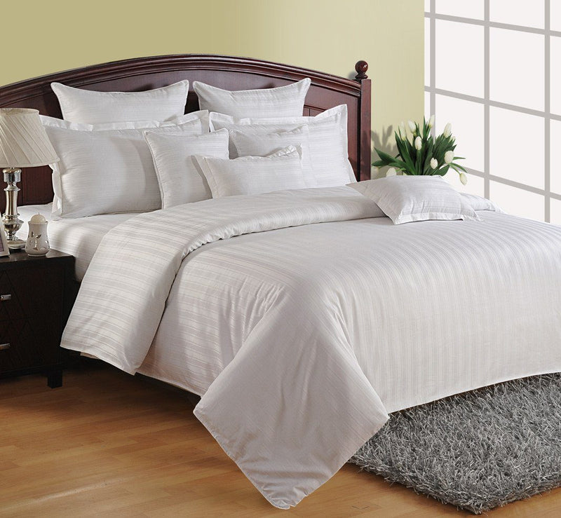 CANOPUS CLASSIC WHITE DUVET COVER - Flickdeal.co.nz