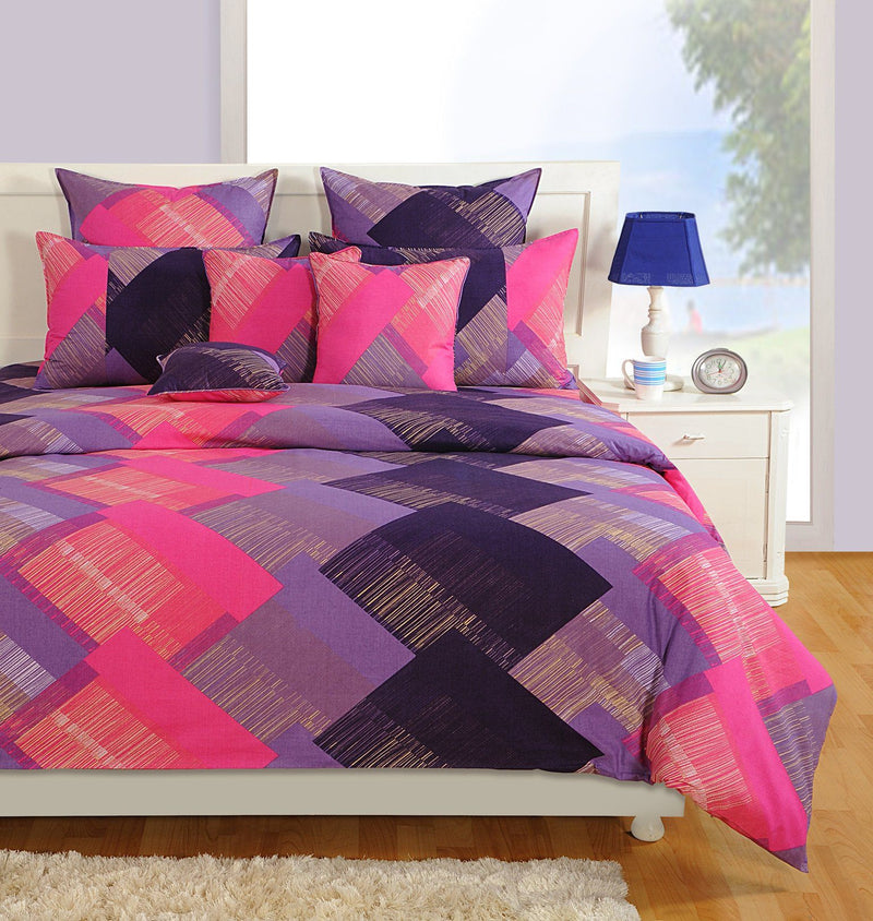 Canopus Zigzag Designer Duvet Cover Set - Flickdeal.co.nz