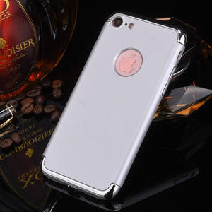 3 In 1 Ultra Thin Plating Hard PC Case For iPhone 7 & iPhone 8
