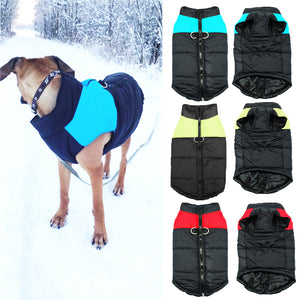 Pet Dog Winter Waterproof Clothes Coats Jacket Puppy Warm Soft Clothes Small To Large