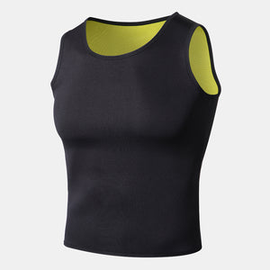 Men's Body Shaper Slimming Trainer Hot Sweat Vest