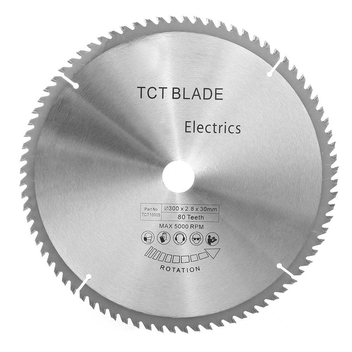 TCT 300mm x 80 Teeth Circular Saw Blade Cutting Discs Fit for Bosch Makita