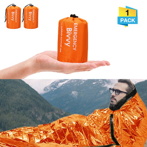 PE Aluminum Film Sleeping Bag 1 People Outdoor Camping Waterproof Sleeping Pad Portable Folding Sleeping Mat