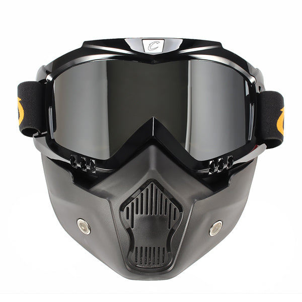 Motorcycle Windproof Dustproof Helmet Goggles With Removable Mask Mountain Bike Riding For CYCLEGEAR