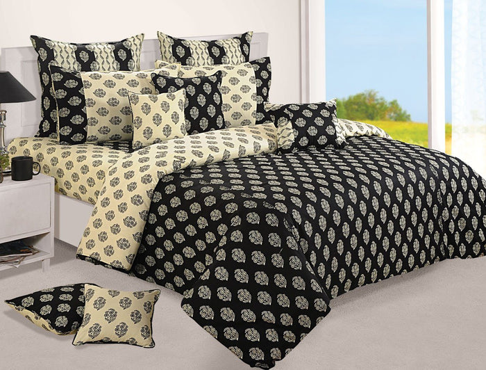 Canopus Black Duvet Cover set
