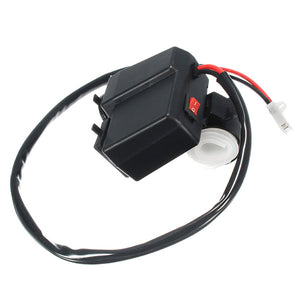 12V/24V 3.1A Waterproof Motorcycle Dual Usb Charger LED Volt Meter VoltmeterSocket