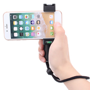 Handheld Grip Cell Holder Clamp Clip Stabilizer Self Stick for Mobile Phone