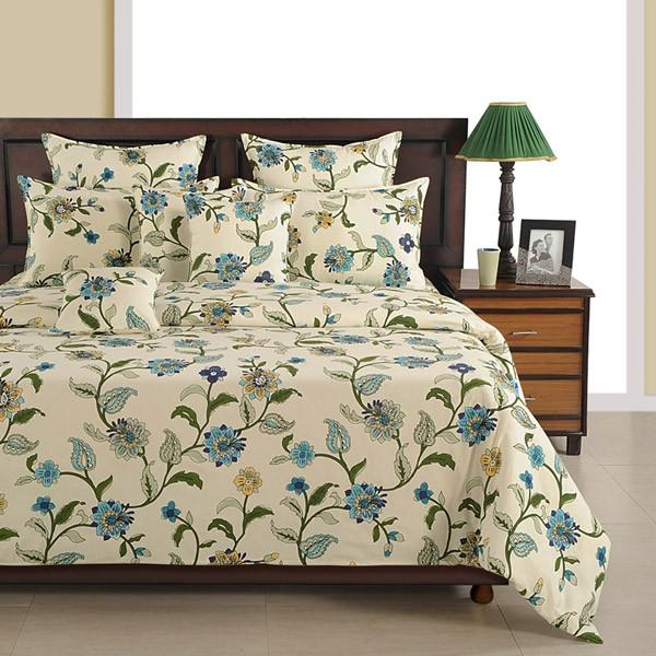 Canopus  Floral Bed Linen Set Super King - Flickdeal.co.nz
