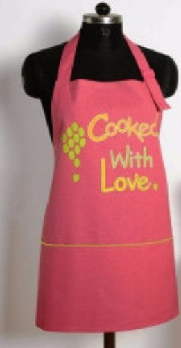COOKED WITH LOVE KITCHEN APRON - Flickdeal.co.nz