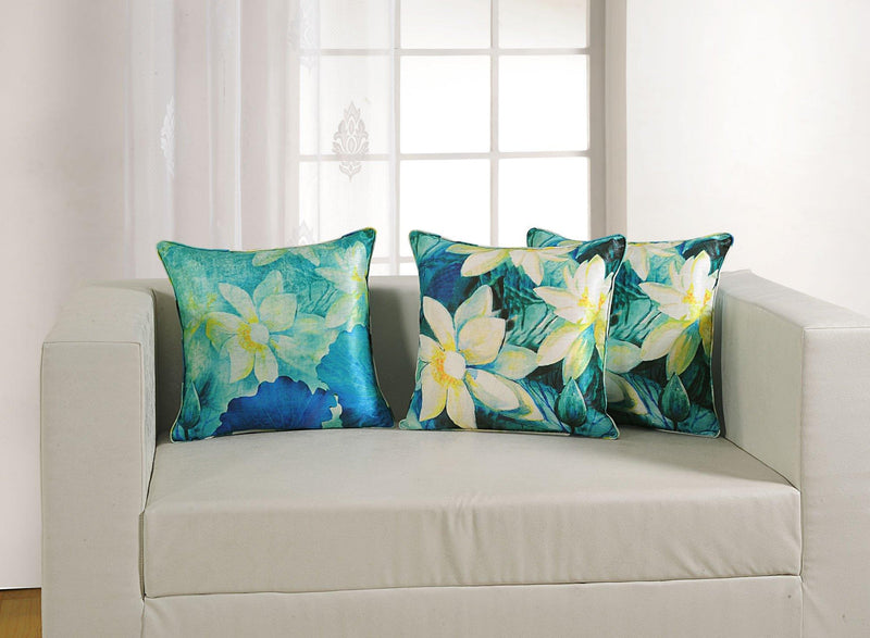 FLORAL CUSHION COVER - Flickdeal.co.nz